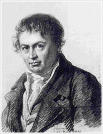 Joseph Anton Koch portraitiert von Vogel zu Vogelstein