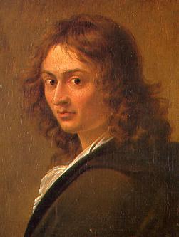 Il grande ancora giovane  Joseph Anton Koch ritratto da Eberhard Wächter