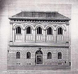 Gaetano Koch - la bibliothèque du sénat