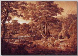 Landschaft mit Apoll unter den Hirten
