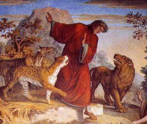 Dante e Virgilio - Affreschi del Casino Massimo di Joseph Anton Koch