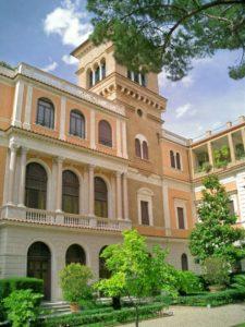 Die Villa Malta, damaliger Treffpunkt der deutschen Künstler in Rom