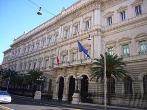 Italienische Zentralbank - Architekt Gaetano Koch
