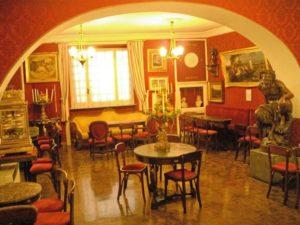 Caffè Greco, Treffpunkt der Künstler in Rom