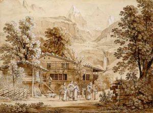 Paesaggio del Berner Oberland, Joseph Anton Koch