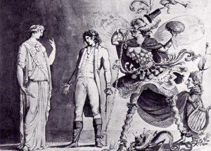 Der Maler am Scheideweg - J. A. Koch