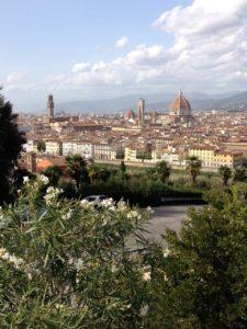 Florenz -1865 zur Hauptstadt des neu gegründeten italienischen Staates erkoren