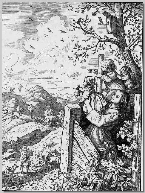 Ludwig Richter - Guck in die weite Welt