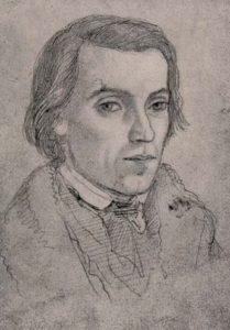 Selbstportrait von Ludwig Richter