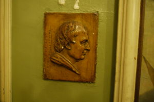 Relief von Joseph Anton Koch im Caffè Greco, Rom