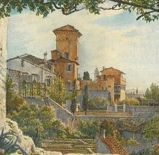 La Villa Malta, centre des peintres Allemands à Rome