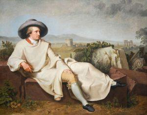 Das berühmte Portrait von Goethe in Italien (Tischbein)