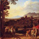 Landschaft mit heiligem Martin