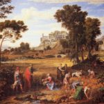 Landschaft mit Ruth und Boas