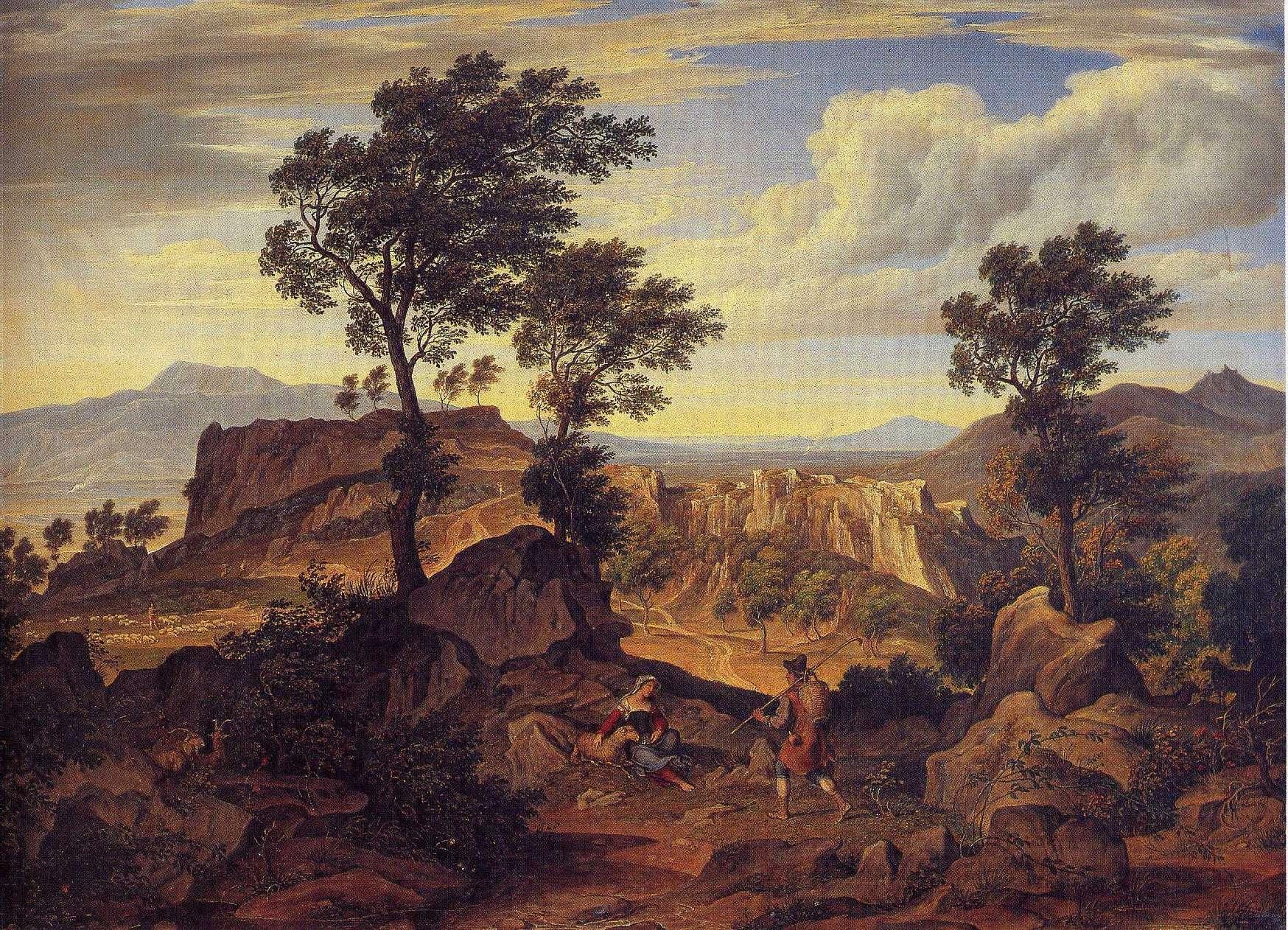 Die Serpentara bei Olevano Romano