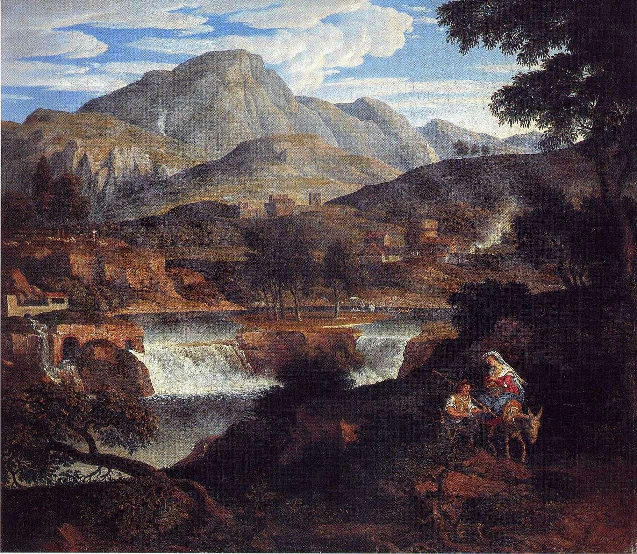 Wasserfälle bei Subiaco