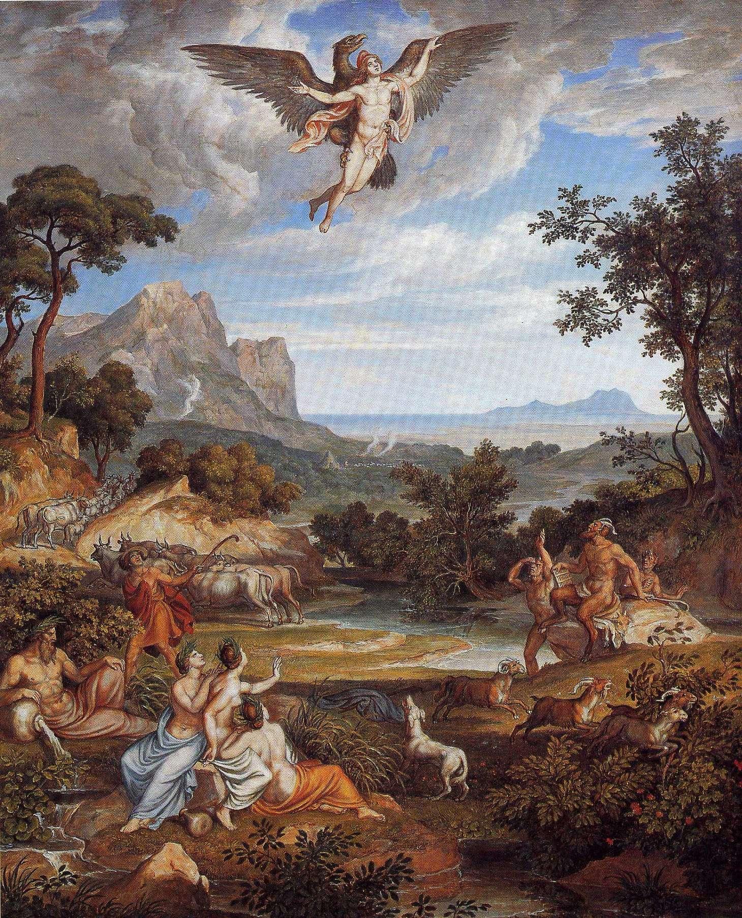 Raub von Ganymed