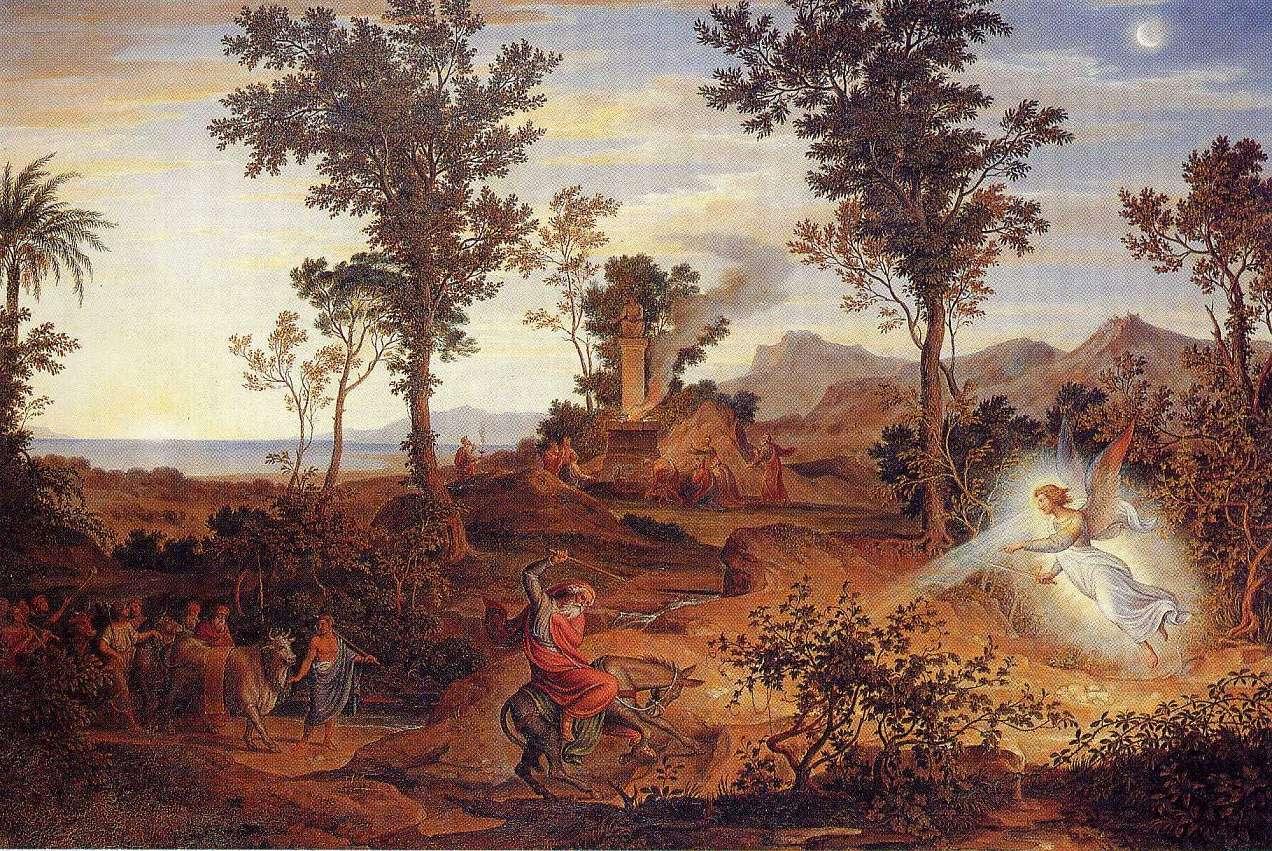 Landschaft mit Bileam